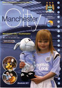 southampton home 2003 to 04 prog