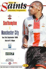 southampton wc away 1999 to 00 prog