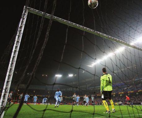 sporting lisbon home 2011 to 12 mario goal