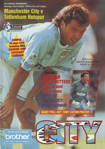 spurs home 1994 to 95 prog