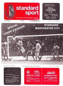 standard liege away 1978 to 79 prog
