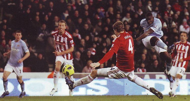 stoke away 2010 to 11 richards goal