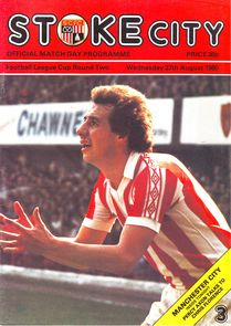 stoke away league cup 1980 to 81 prog