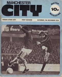 stoke home 1974 to 75 programme