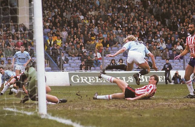 stoke home 1988 to 89 oldfield goal