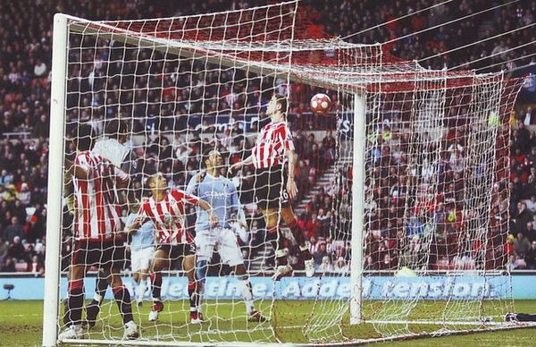 sunderland away 2009 to 10 johnson goal