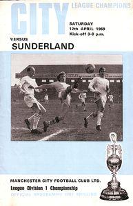 sunderland home 1968 to 69 prog