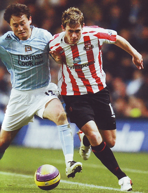 sunderland home 2007to08 action