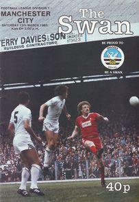swansea away 1982 to 83 prog