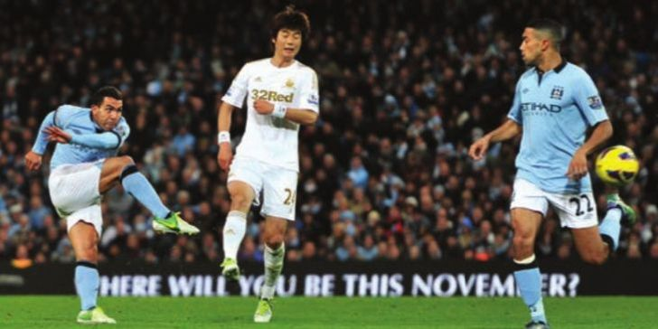 swansea home 2012 to 13 tevez goal