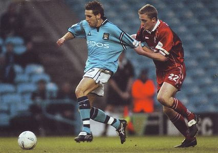 swindon fa cup 2001 to 02 action