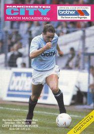 swindon home 1987 to 88 prog