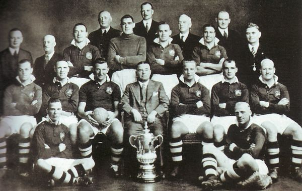 team group 1934 to 35