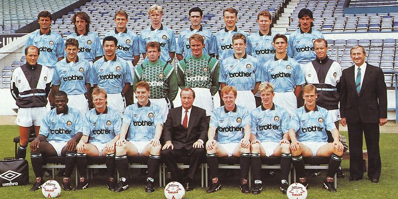 team group 1989 to 90