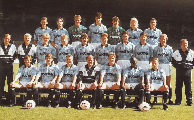 team group 1990 to 91