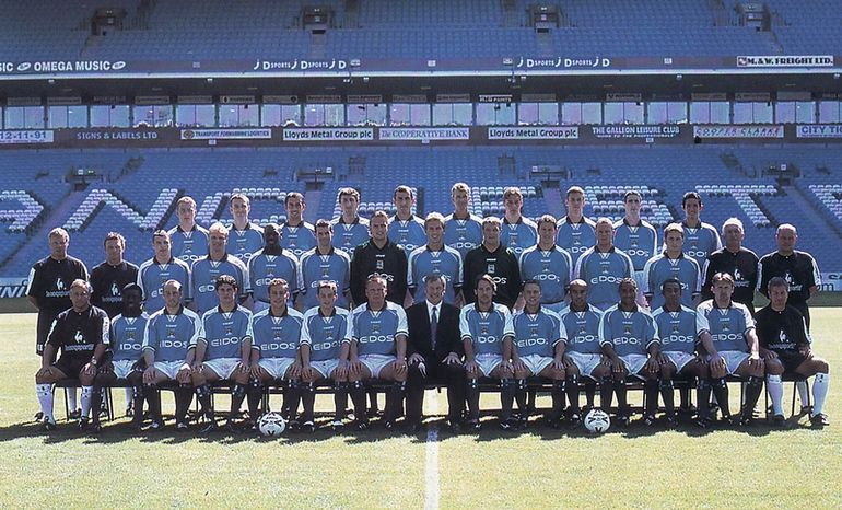 team group 1999 to 00