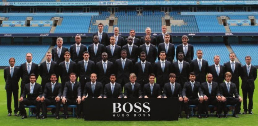 team group in suits 2012 to 13