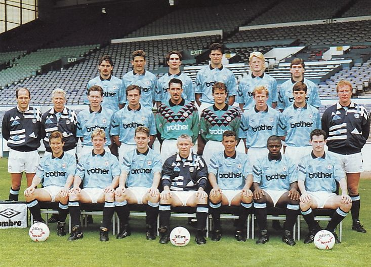 team picture 1991 to 92
