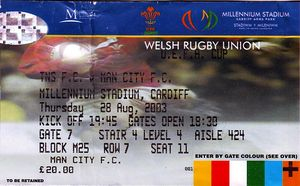 tns away 2003 to 04 ticket