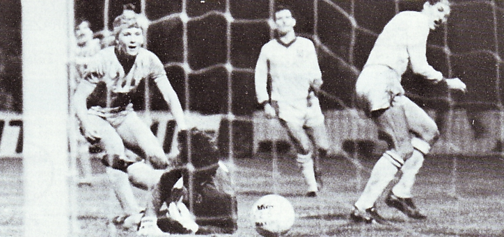 torquay home 1983 to 84 hoyland goal