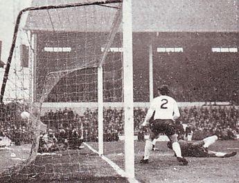 tottenham away 1968 to 69 lee goal