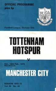 tottenham away 1972 to 73 prog