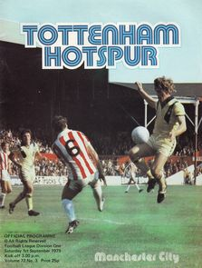 tottenham away 1979 to 80 prog