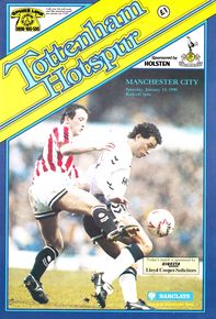 tottenham away 1989 to 90 prog