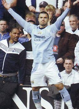 tottenham away 2008 to 09 bojinov goal celeb