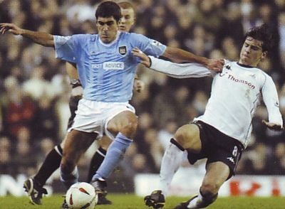 tottenham away carling cup 2003 to 04 action