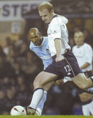 tottenham away carling cup 2003 to 04 action2