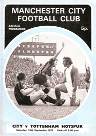 tottenham home 1972 to 73 prog