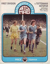tottenham home 1976 to 77 prog