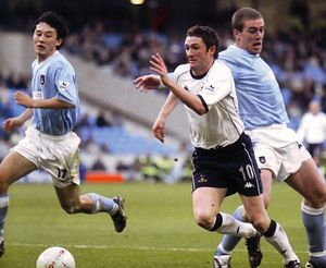 tottenham home fa cup 2003 to 04 action2