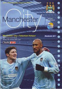 tottenham home fa cup 2003 to 04 prog