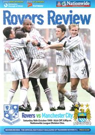 tranmere away 1999 to 00 prog