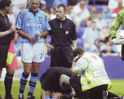 tranmere away friendly 2001 to 02 ref knocked out