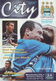 tranmere home 1997 to 98 prog