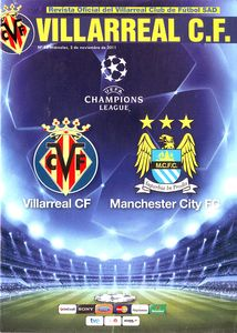 villarreal away 2011 to 12 prog