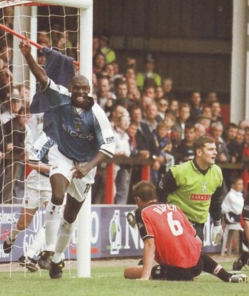 walsall away 1999 to 00 goat goal