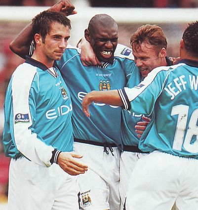 walsall away 1999 to 00 goat