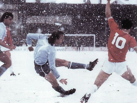 walsall away fa cup 1985 to 86 action