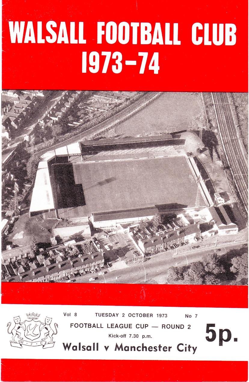 walsall away 1973 to 74 prog