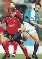 walsall home 1999 to 00 action3