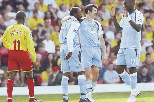 watford away 2006 to 07 vassell goal
