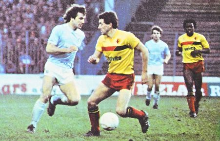 watford home fa cup 1985 to 86 action2