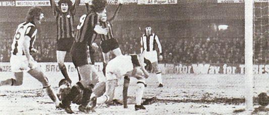wba fa cup away 1976 to 77 royle goal
