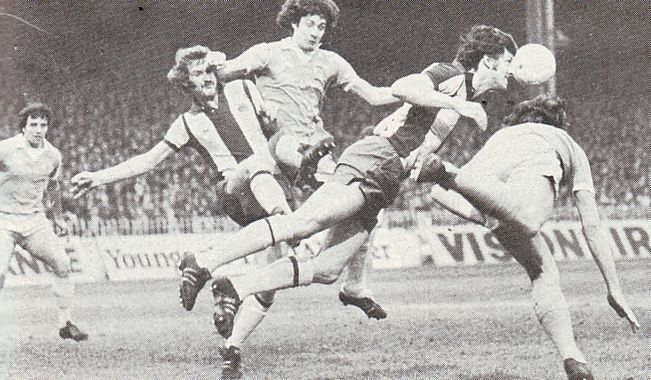 wba home 1976 to 77 action