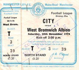 wba home 1976 to 77 ticket