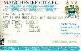 wba home 1999 to 00 ticket